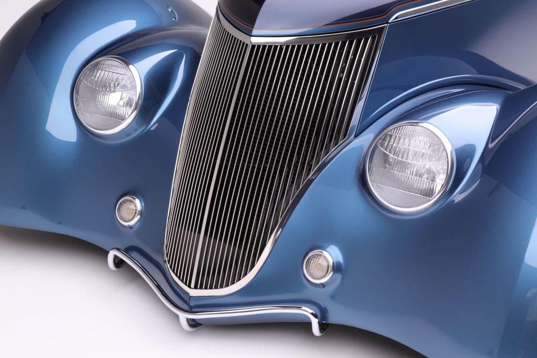 1936 Ford Coupe Foose custom hot rod rods retro vintage wallpaper