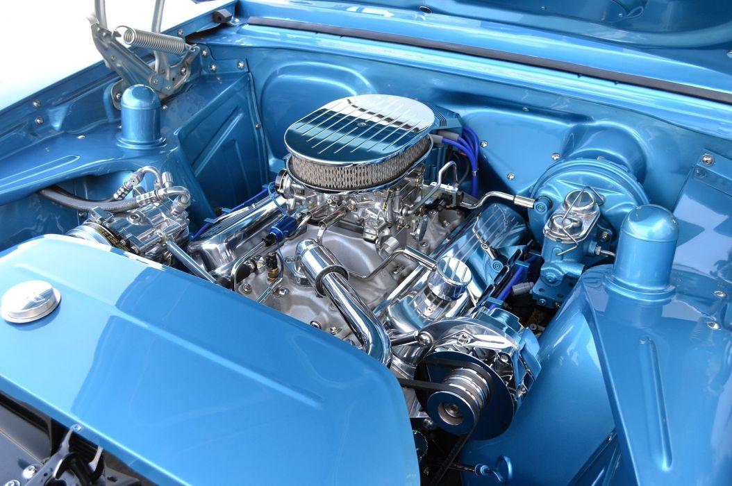 1966 Chevrolet Nova muscle custom hot rod rods classic wallpaper