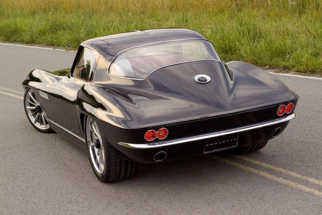 1965 Chevrolet Corvette Sting Ray custom hot rod rods muscle supercar classic stingray wallpaper