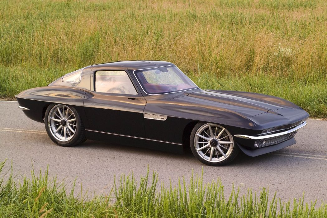 1965 Chevrolet Corvette Sting Ray custom hot rod rods muscle supercar classic stingray wallpaper