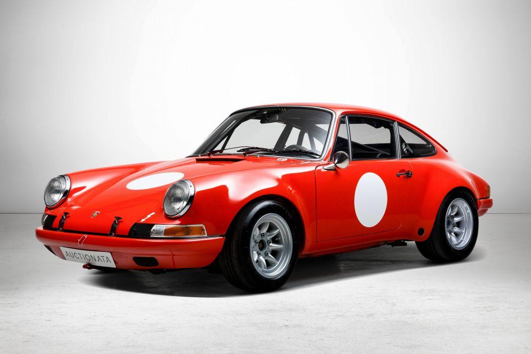 1970 Porsche 911 S-T 2-2 Coupe classic supercar race racing wallpaper