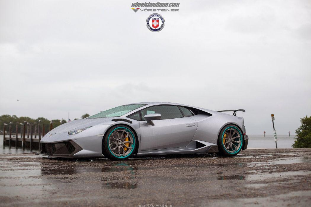 Lamborghini Huracan HRE wheels supercars cars wallpaper