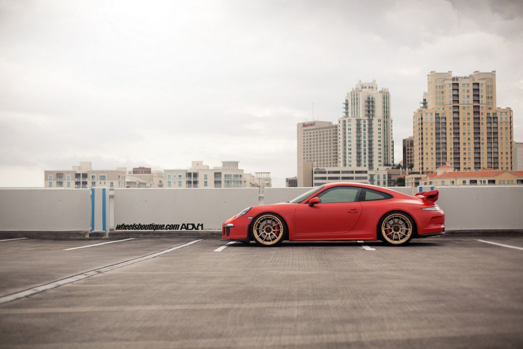 Porsche 991 GT3 HRE wheels coupe cars wallpaper