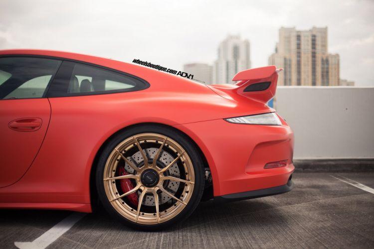 Porsche 991 GT3 HRE wheels coupe cars wallpaper