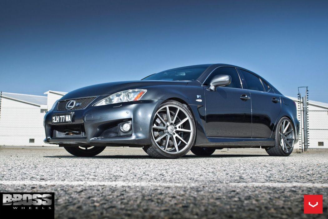 Lexus ISF vossen wheels sedan cars wallpaper