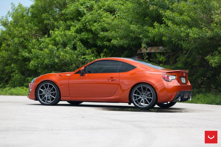 Scion FRS vossen wheels coupe cars wallpaper