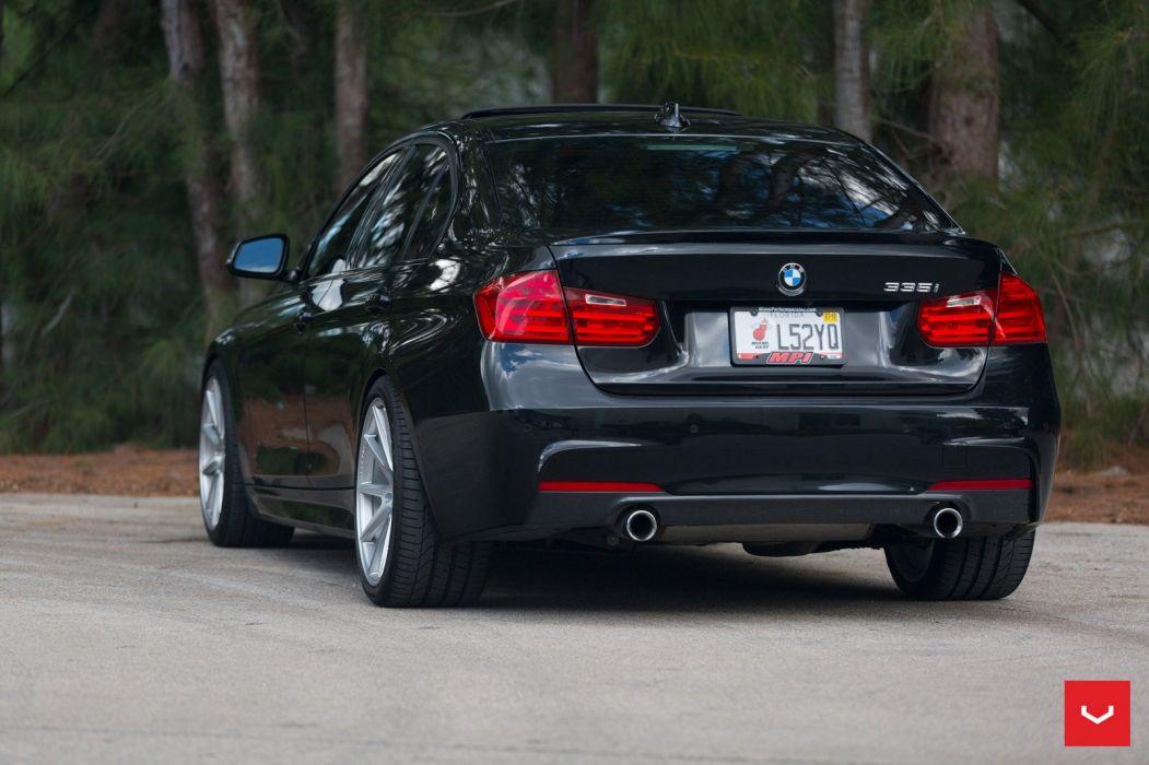 BMW 335i vossen wheels sedan cars wallpaper