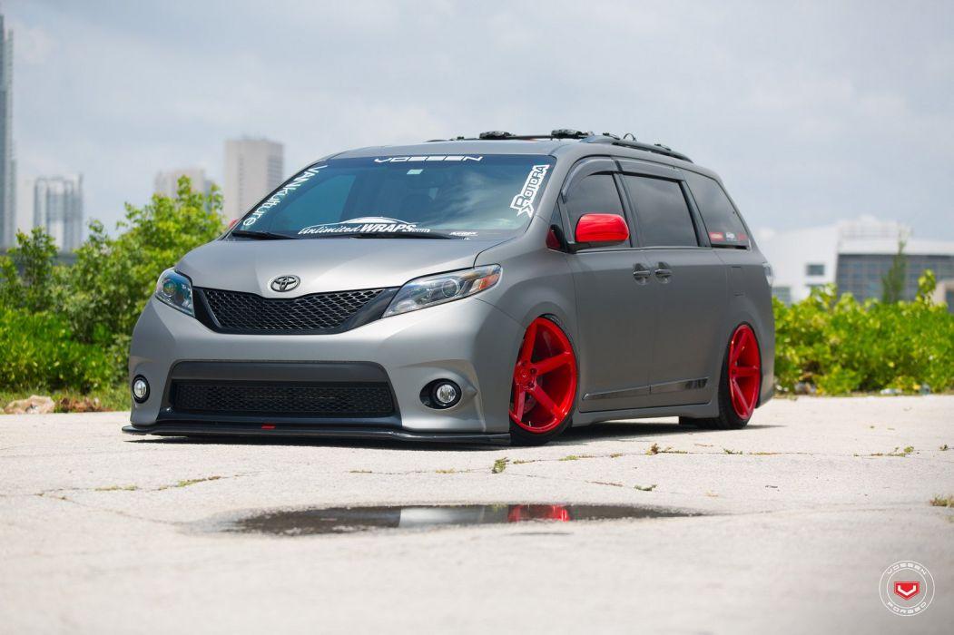 Toyota Sienna vossen wheels van cars wallpaper
