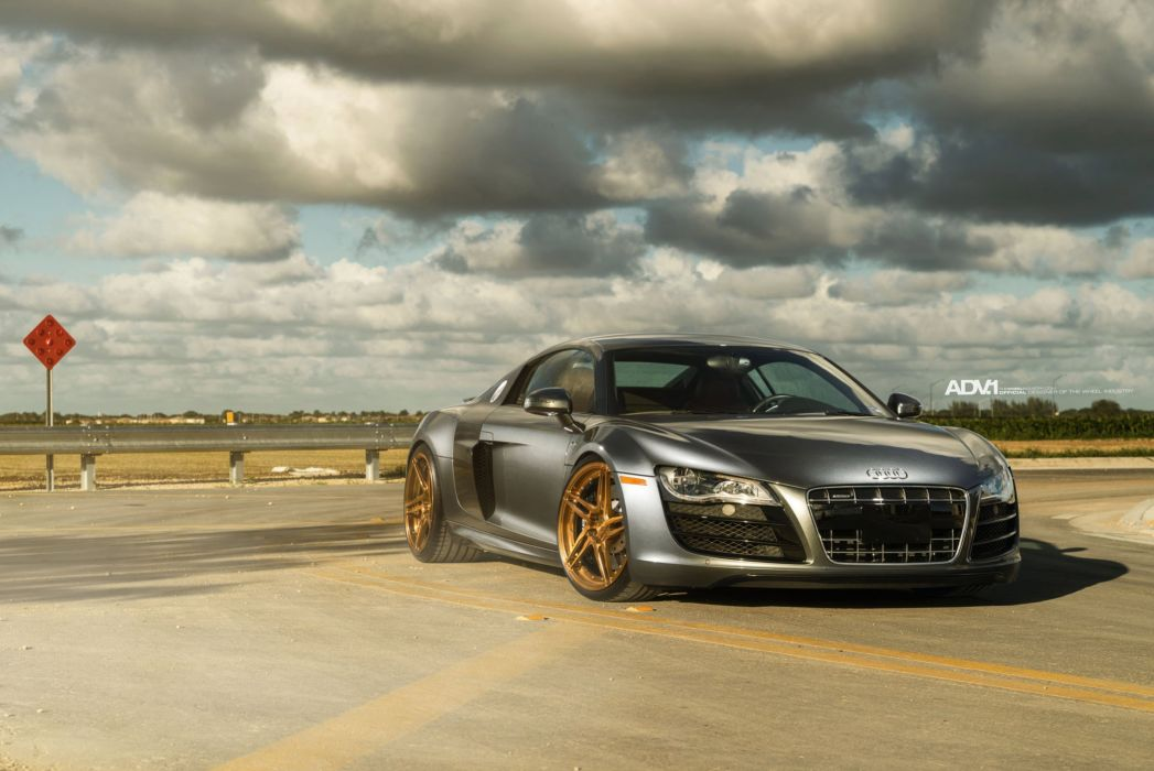 audi r8 adv1 wheels coupe cars wallpaper