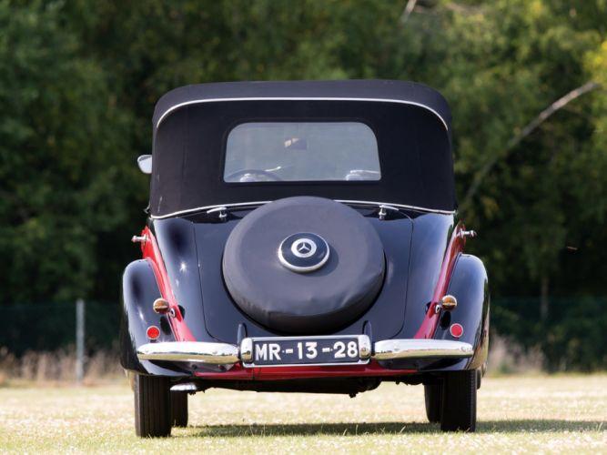 1951 Mercedes Benz 170D OTP luxury convertible 170 retro wallpaper
