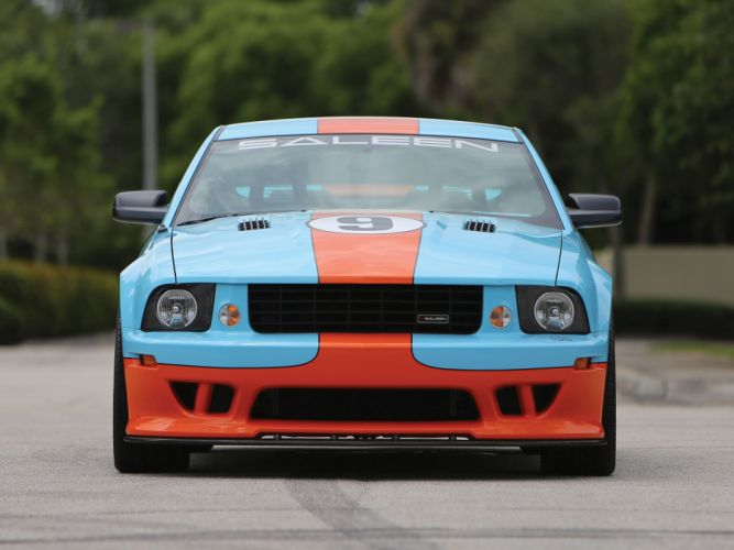 2007 Ford Saleen S281 Extreme Mustang muscle race racing wallpaper