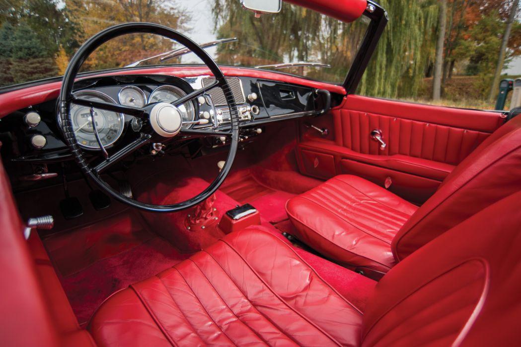 1959 BMW 507 Series-II convertible retro wallpaper