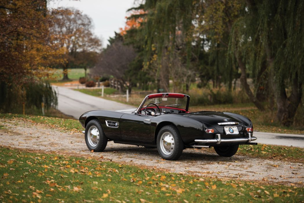 1959 BMW 507 Series-II convertible retro wallpaper
