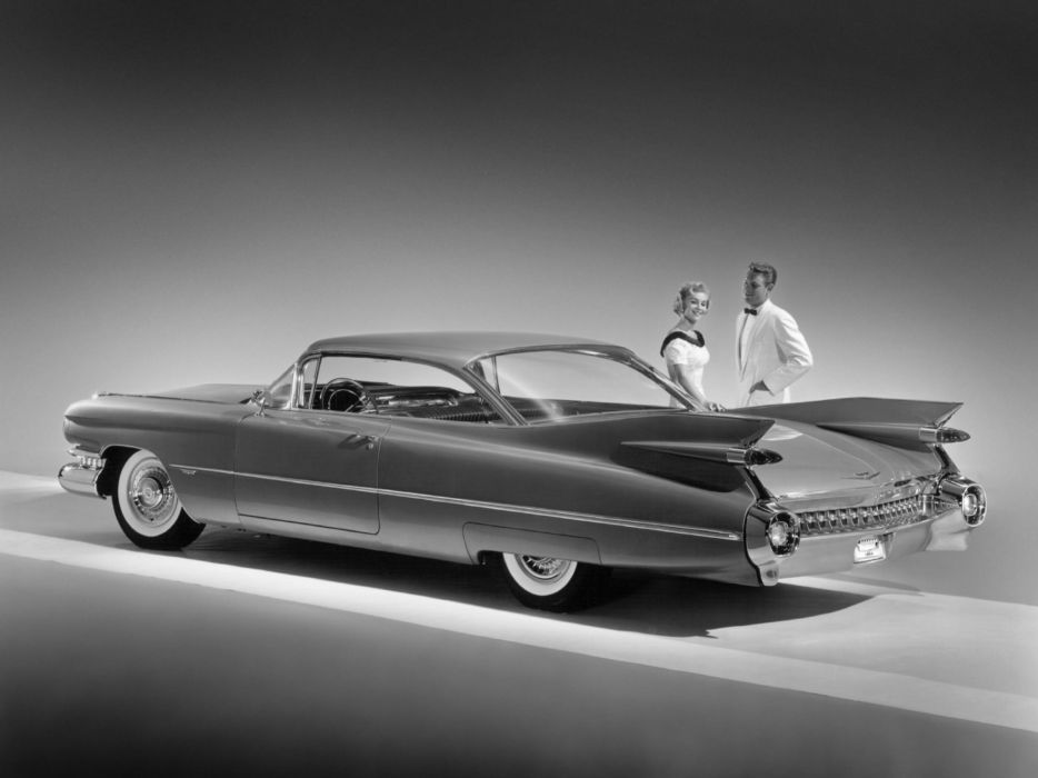 1959 Cadillac Sixty-Two Hardtop Coupe luxury retro wallpaper