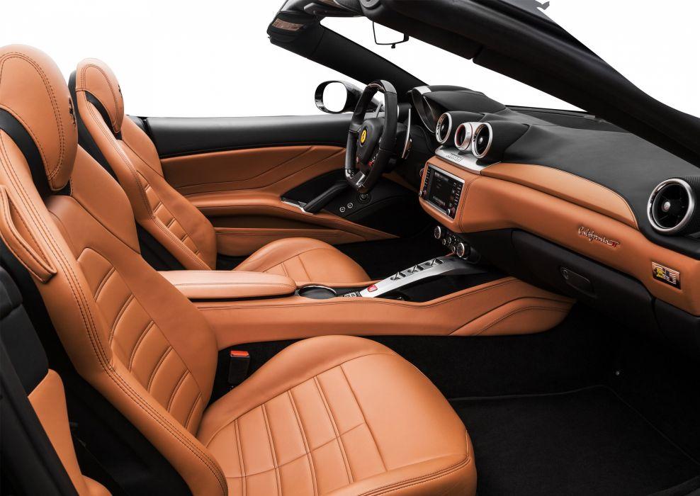 2015 Ferrari California T US-spec Pininfarina convertible supercar wallpaper