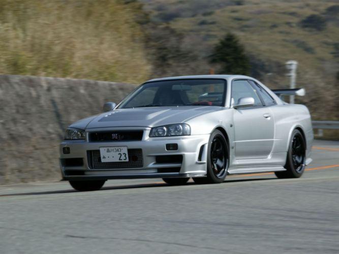 2004 Nismo Nissan Skyline GT-R Z-Tune BNR34 r34 supercar wallpaper