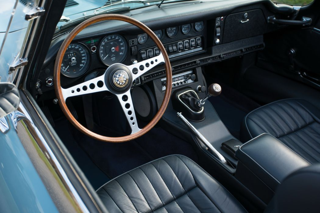 1969 Jaguar E-Type Open Two Seater US-spec Series-II classic supercar wallpaper