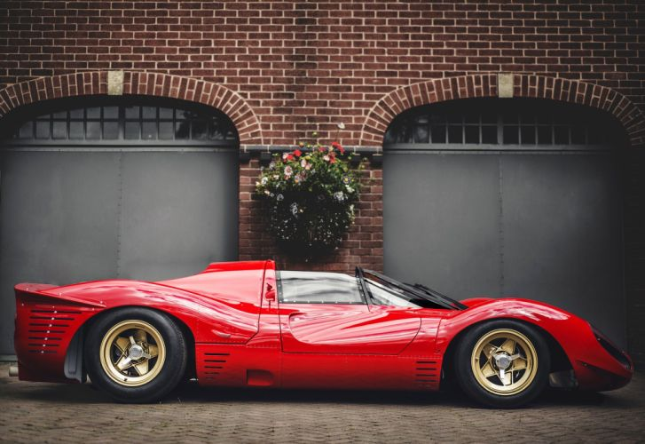1967 Ferrari 330 P-4 Drogo supercar classic race racing rally le-mans lemans wallpaper