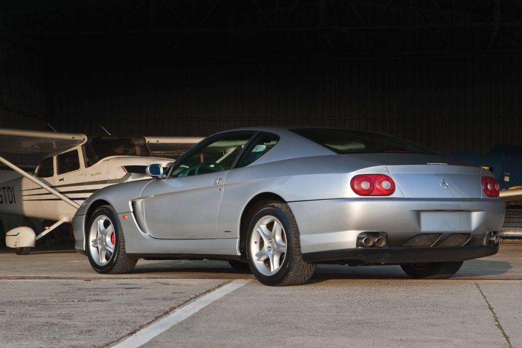 1998-03 Ferrari 456 M GTA Pininfarina supercar wallpaper