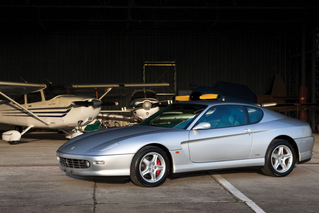 1998-03 Ferrari 456 M GTA Pininfarina supercar wallpaper