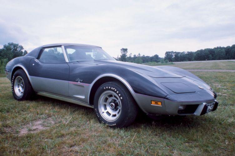 1975 Chevrolet Corvette Stingray Turbovette Sport Coupe sting ray supercar muscle wallpaper