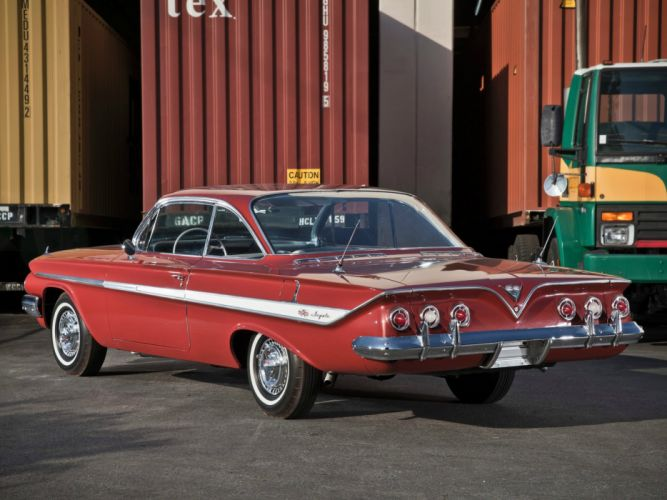 1961 Chevrolet Impala Sport Coupe muscle classic wallpaper