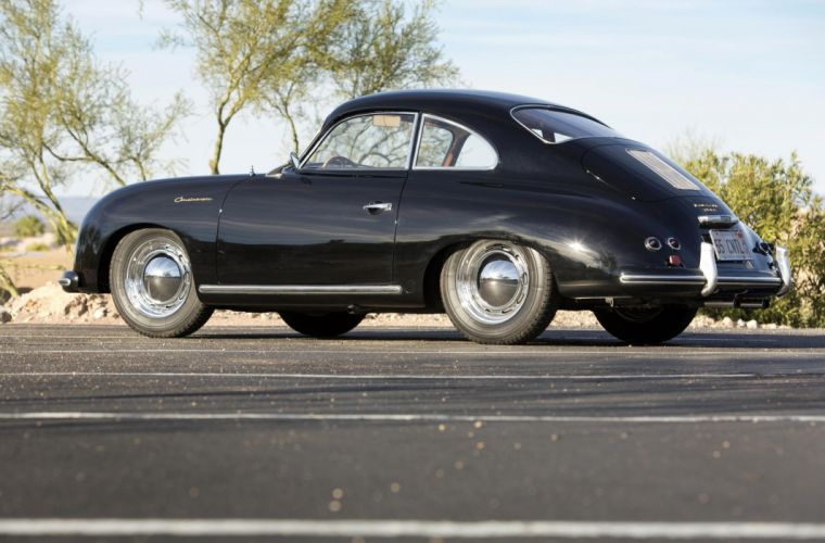 1955 Porsche 356 1500 Continental Coupe retro wallpaper