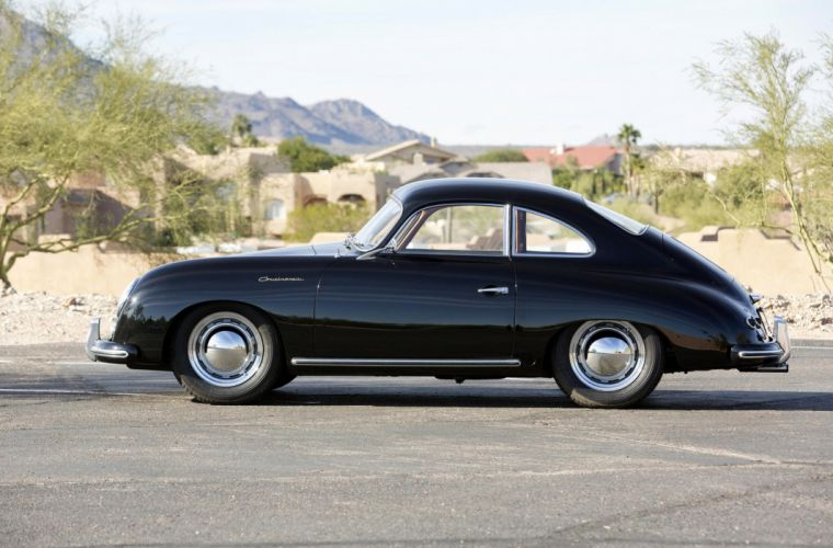 1955 Porsche 356 1500 Continental Coupe retro wallpaper