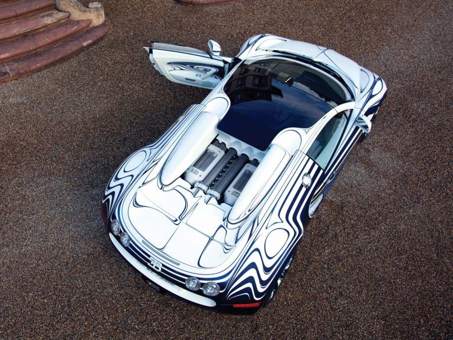 2011 Bugatti Veyron Grand Sport Roadster L-Or-Blanc supercar wallpaper