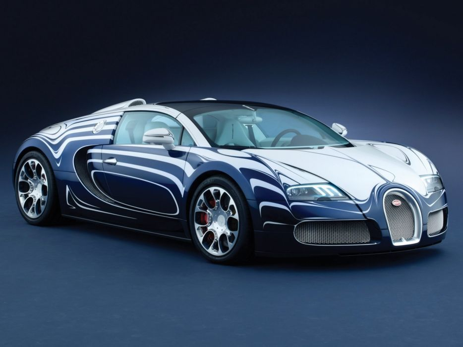 2011 Bugatti Veyron Grand Sport Roadster L-Or-Blanc supercar wallpaper