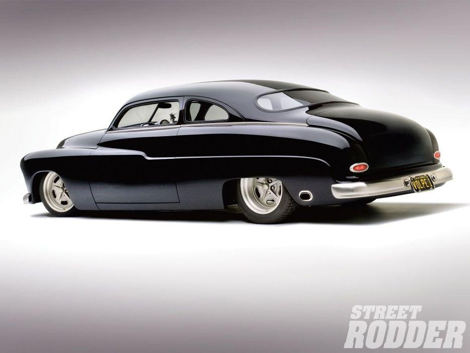 1950 Mercury Coupe custom hot rod rods retro wallpaper