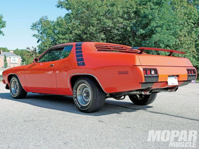 1974 Plymouth Road Runner muscle classic mopar wallpaper