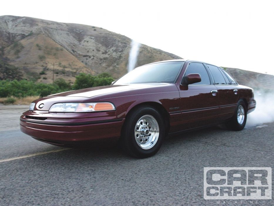 1992 Ford Crown Victoria custom hot rod rods wallpaper