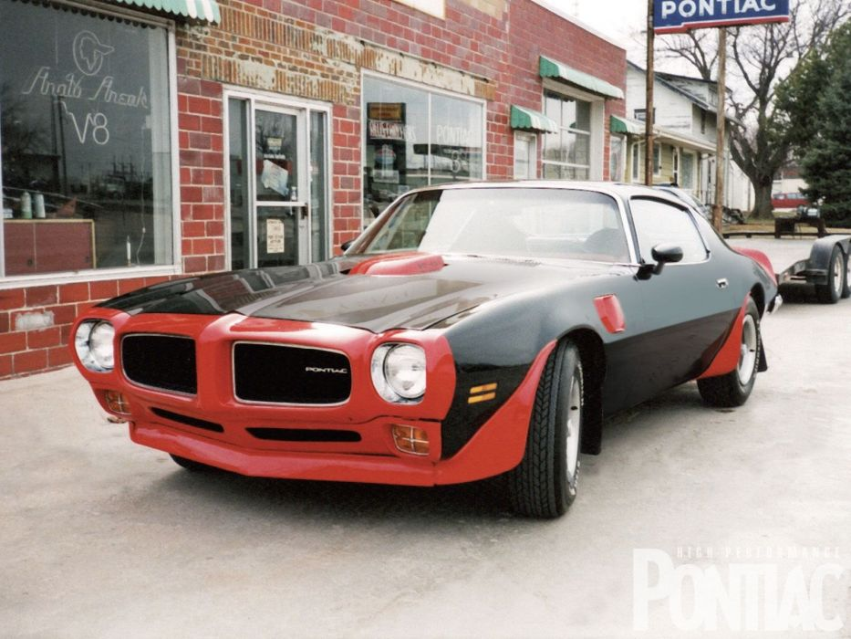 1973 Pontiac Trans-Am 455 muscle classic trans firebird wallpaper