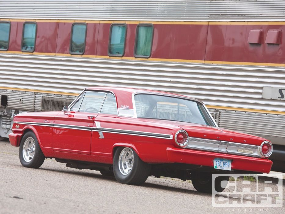 1964 Ford Fairlane muscle classic custom hot rod rods wallpaper