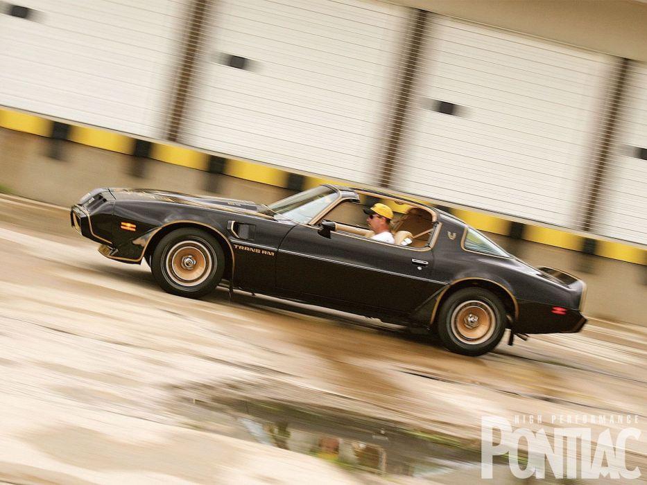 1981 Pontiac Trans-Am muscle firebird trans wallpaper