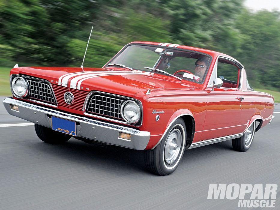 1966 Plymouth Barracuda Formula-S cuda mopar formula muscle classic wallpaper