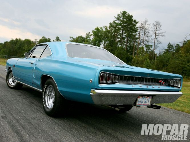 1968 Dodge Coronet R-T Hardtop muscle classic hot rod rods mopar wallpaper