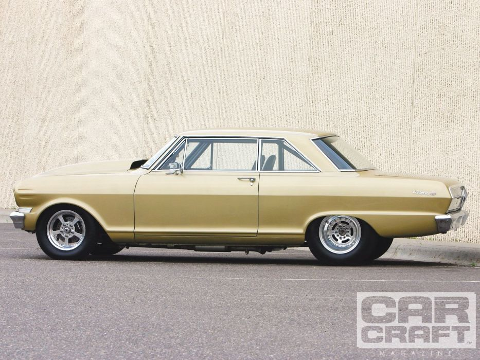 1963 Chevrolet Nova hot rod rods muscle classic wallpaper