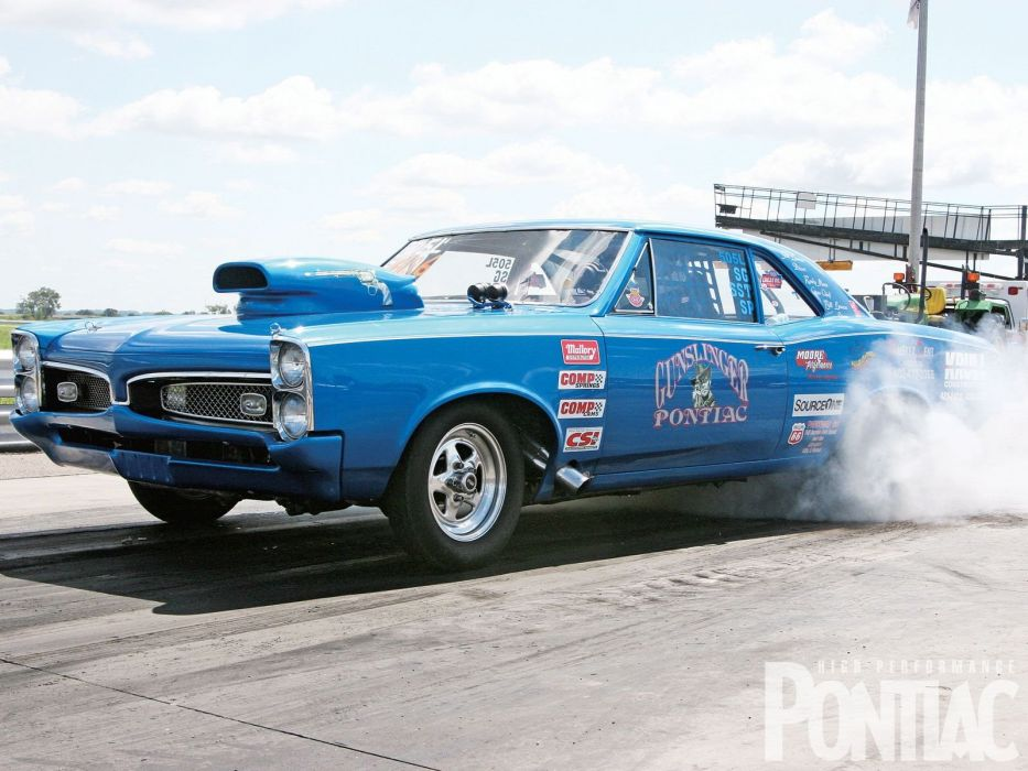 1967 Pontiac GTO Coupe drag race racing hot rod rods muscle classic wallpaper