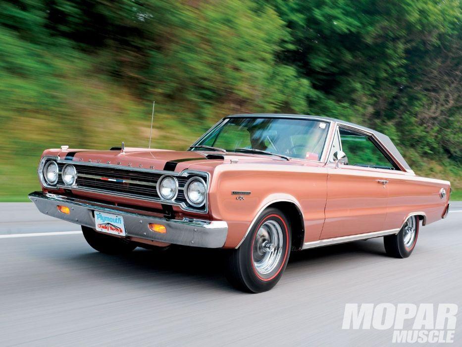 1967 Plymouth Belvedere GTX muscle classic mopar wallpaper