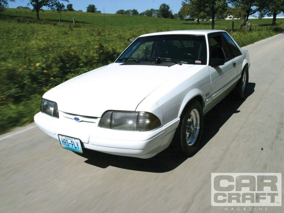1992 Ford Mustang muscle custom hot rod rods wallpaper