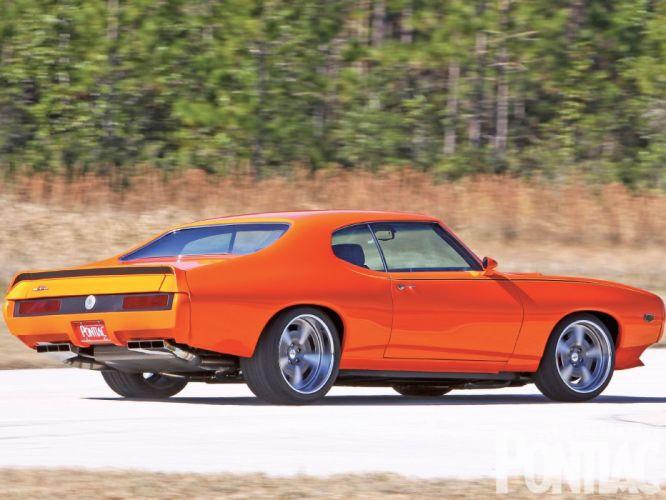 1969 Pontiac GTO Jim Wangers hot rod rods custom muscle judge wallpaper