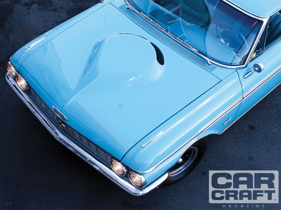 1962 Ford Galaxie muscle classic hot rod rods custom wallpaper