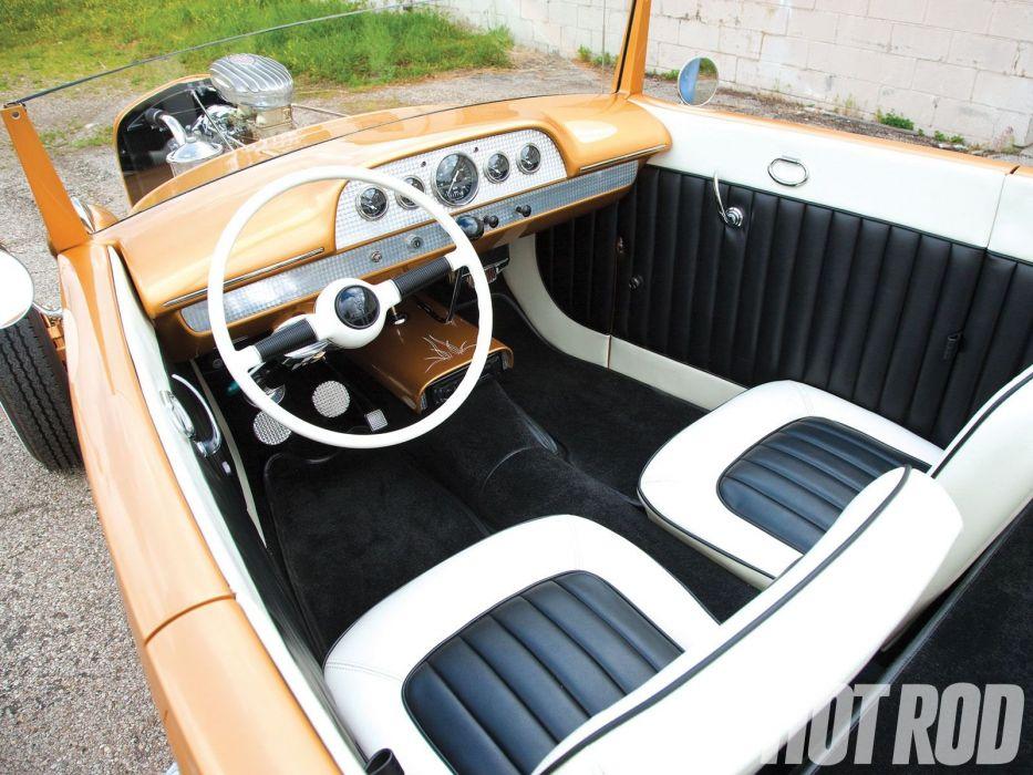 1931 Ford Roadster custom hot rod rods retro vintage wallpaper