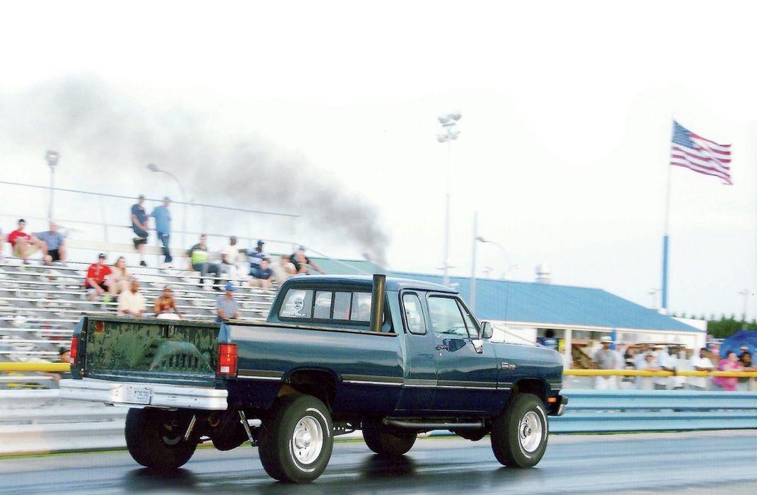 1993 Dodge Ram W250 pickup 4x4 custom wallpaper