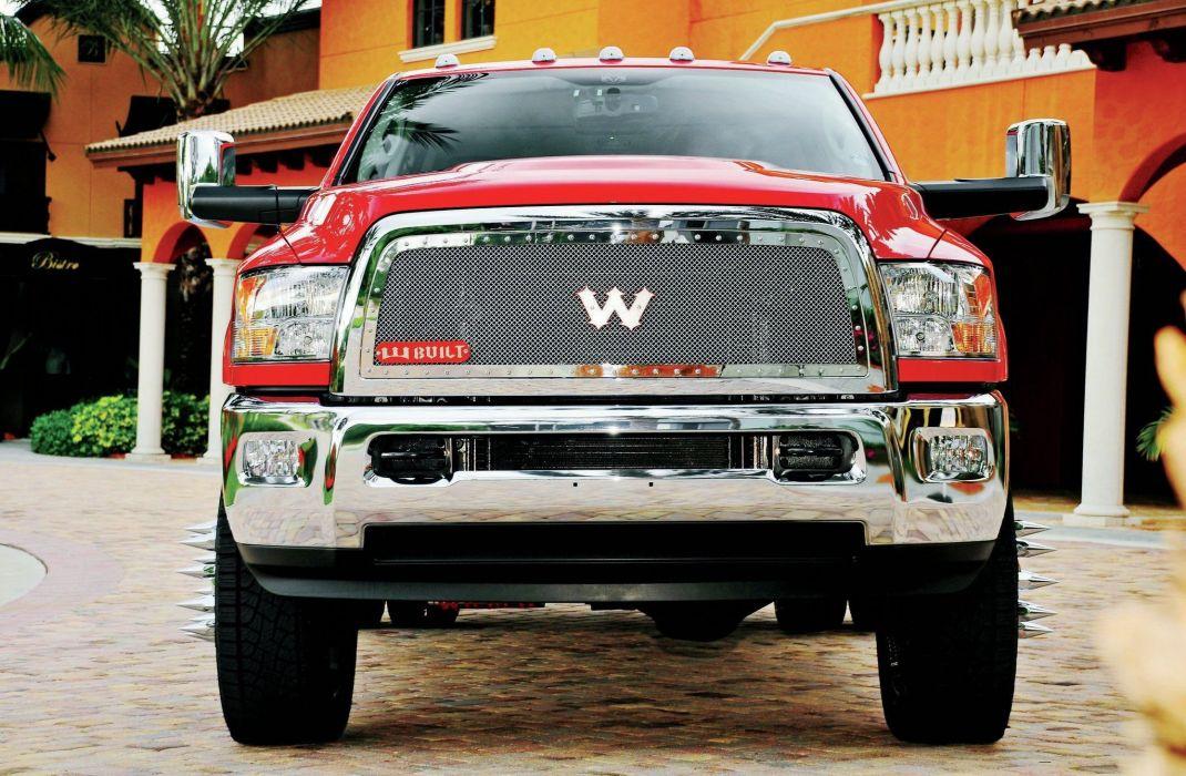 2012 Dodge Ram 3500 pickup custom tuning dualie wallpaper