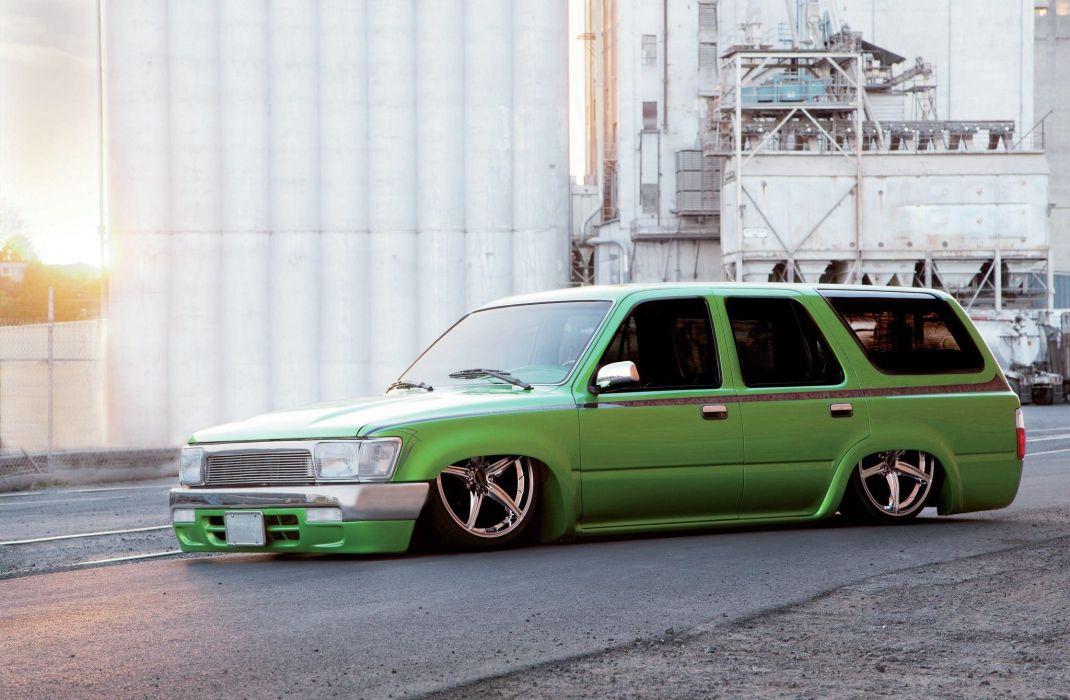 1993 Toyota 4Runner suv lowrider tuning custom hot rod rods wallpaper