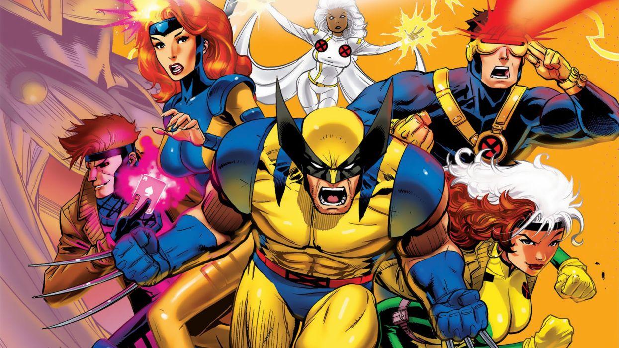 X-MEN superhero marvel action adventure sci-fi warrior fantasy fighting hero xmen 1xmena comics poster wallpaper