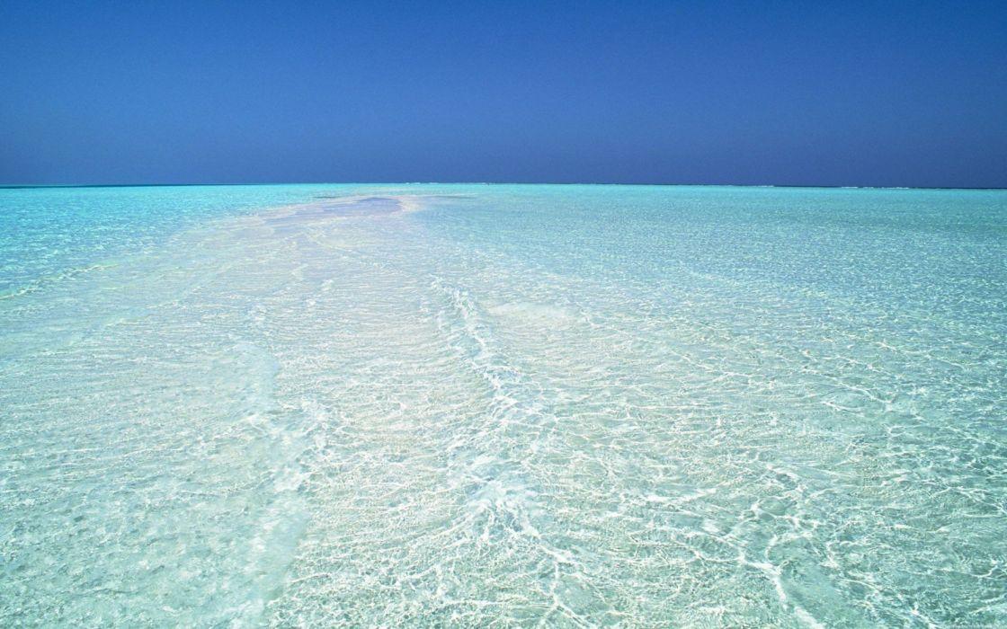 mar cielo azul naturaleza wallpaper